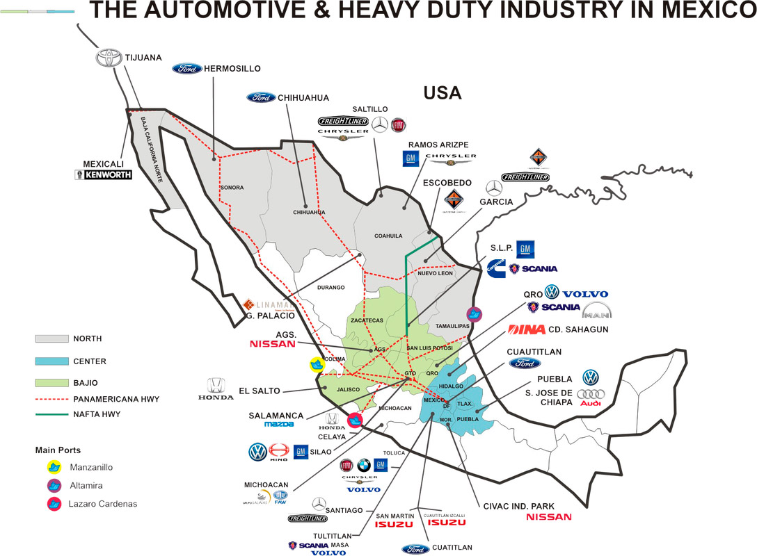 American Industries – Automotive manufacturing Mexico   American