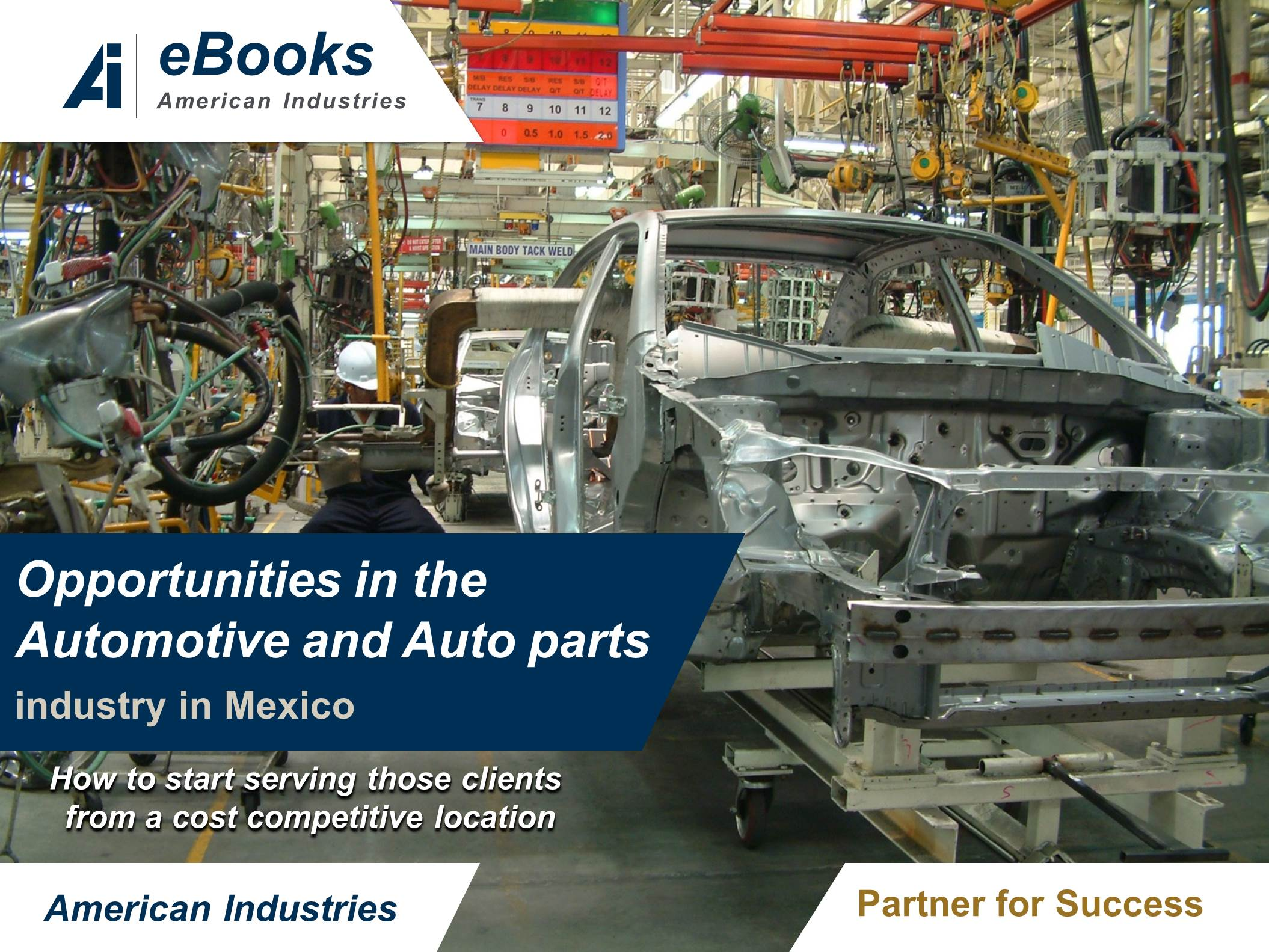 Top 10 opportunities in th Automotive and Autoparts in Mexico