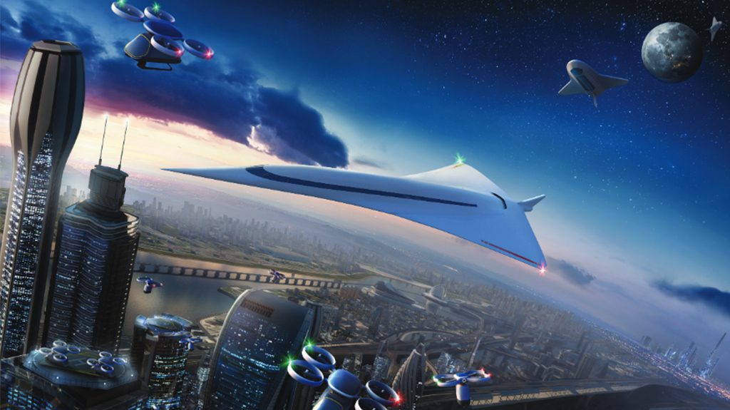 3 3 - Can aerospace industry turn science fiction into reality by 2050?
