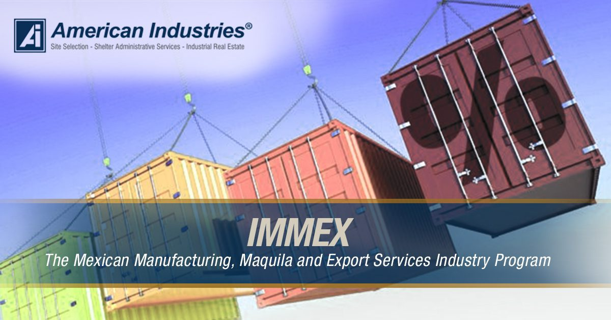 Immex infografica 2 - IMMEX: The Mexican Manufacturing, Maquila and Export Services Industry program