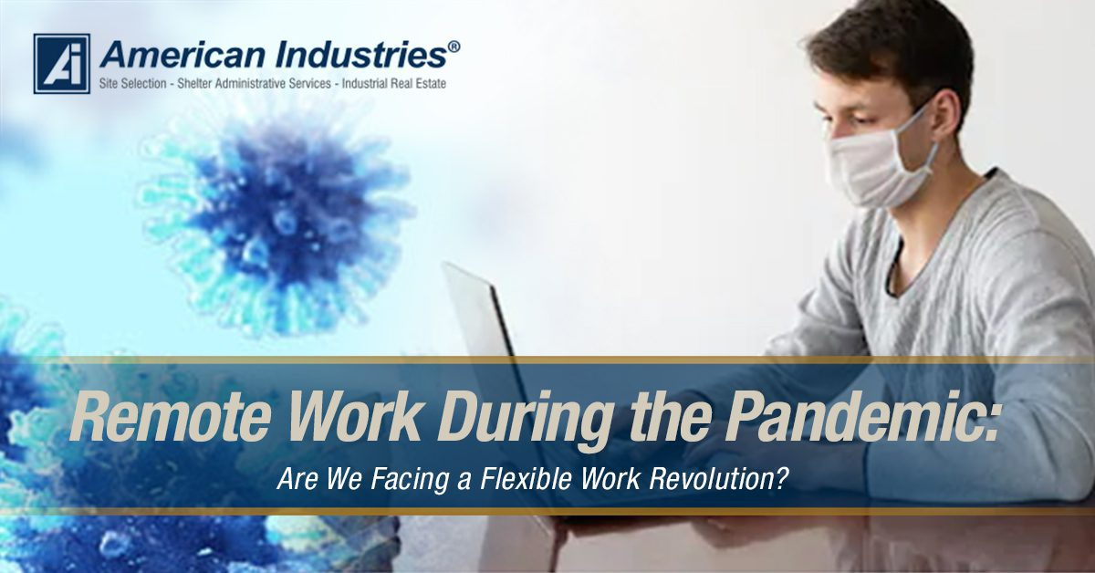 remote work 1 - Remote Work During the Pandemic: Are We Facing a Flexible Work Revolution?